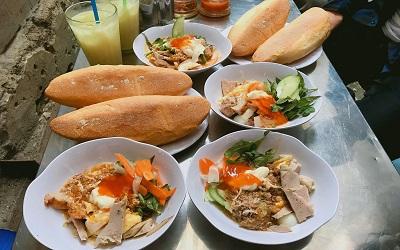Top bánh mì nổi tiếng lâu năm tranh nhau ngôi vị NGON NHẤT Nha Trang.