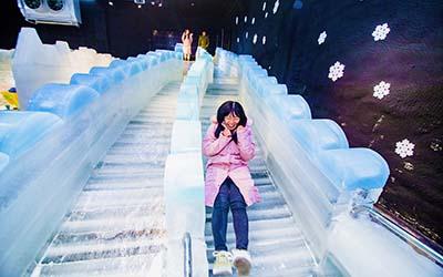 [Địa điểm vui chơi] THẾ GIỚI NHÀ BĂNG MÀU SẮC đầu tiên có mặt tại Nha Trang