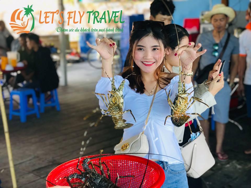 Tour VIP - Đảo Bình Ba 1 Ngày - Thực Đơn Tôm Hùm