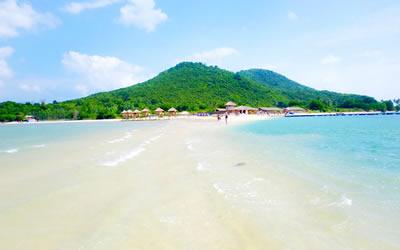 Khám phá con đường dưới biển - Đảo Điệp Sơn