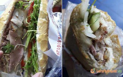 Bánh mỳ Ba Lẹ Nha Trang