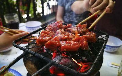 Bò nướng lạc cảnh - Ngon ngất ngây ở Nha Trang