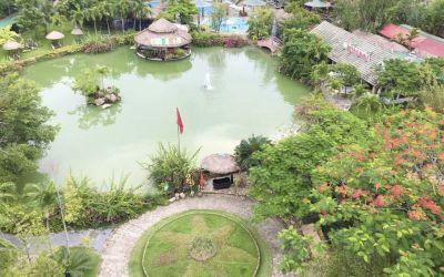 """""""Xõa Tẹt Ga"""" với suối khoáng nóng Tháp Bà Nha Trang"""