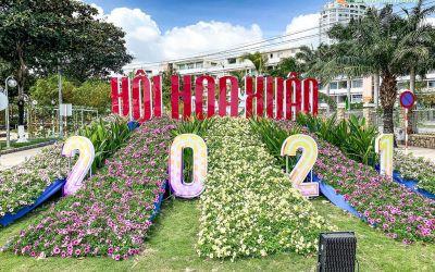 Khai Mạc Hội Hoa Xuân Nha Trang - Mừng Năm Mới 2021